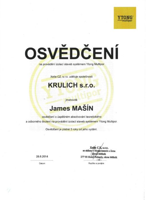 Krulich-Stavby-Domu-certifikat-YTONG-multipor